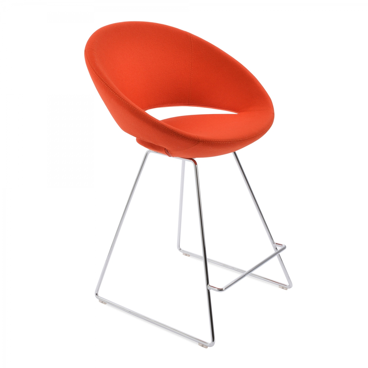 Crescent Wire Stools