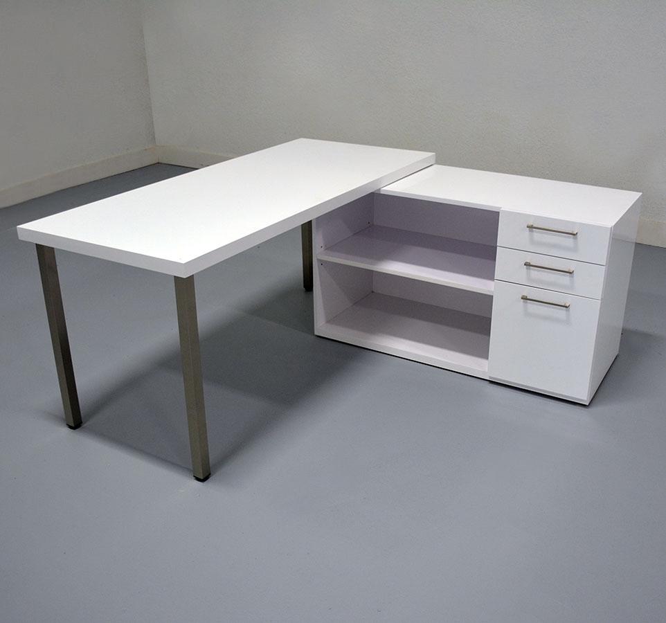 Dallas Laminate Top Office Desk with Credenza