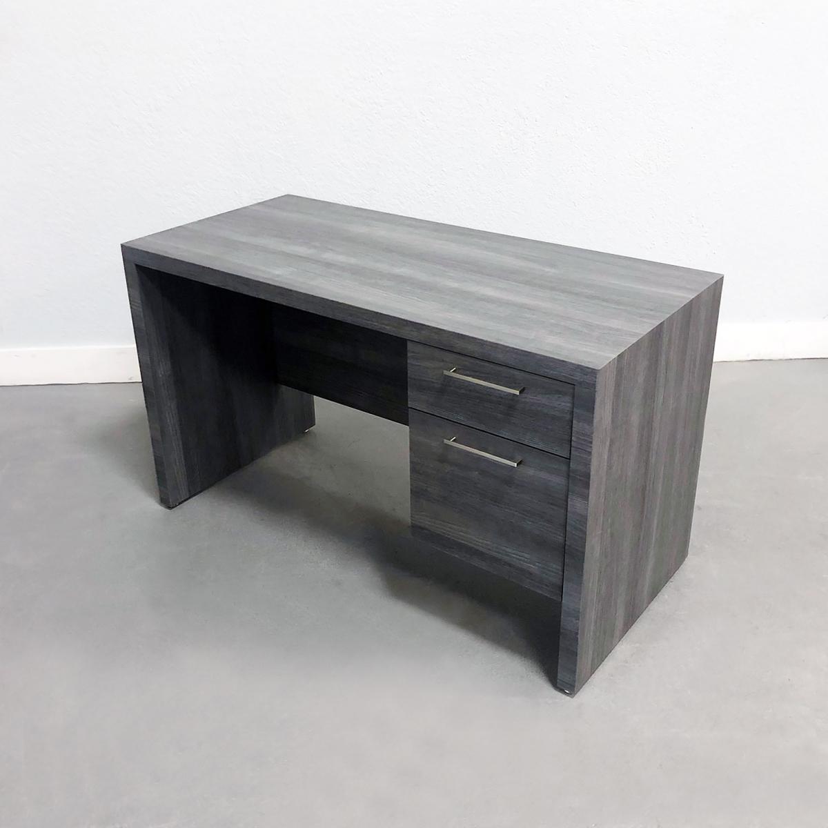 52 In. Denver Office Desk in Gray Laminate