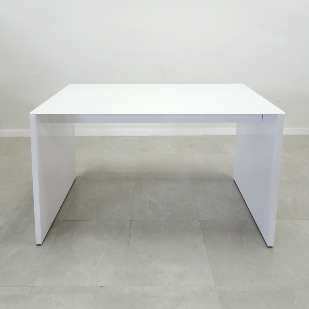 Axis Glass Top Bar Table