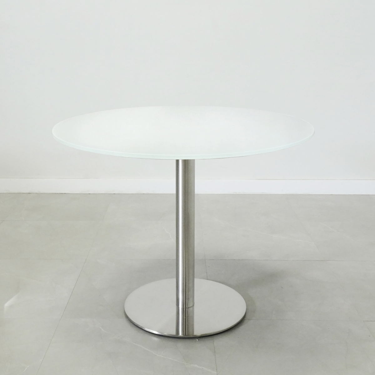 California Round Table with Glass Top