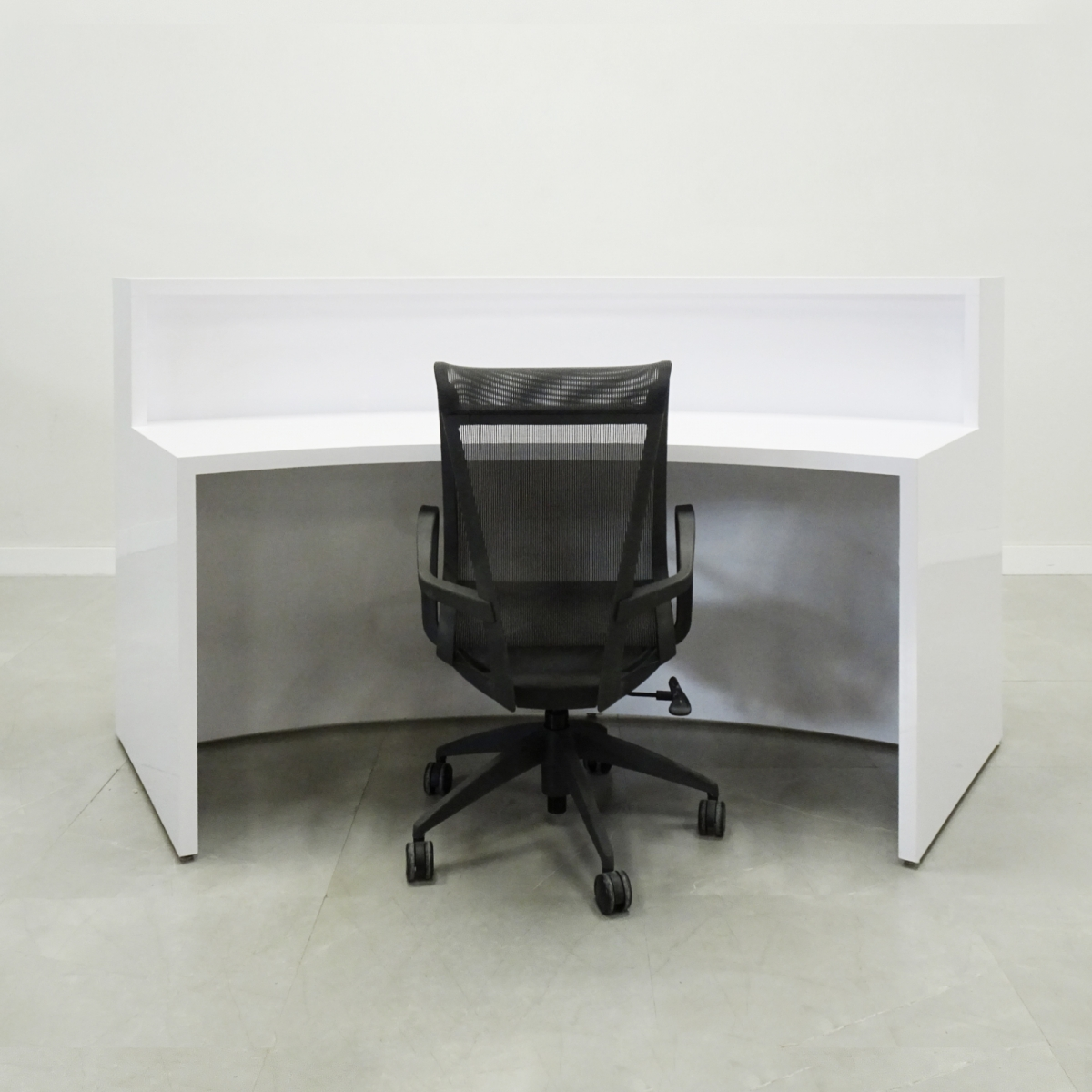 84 In. Seattle Curved Reception Desk
