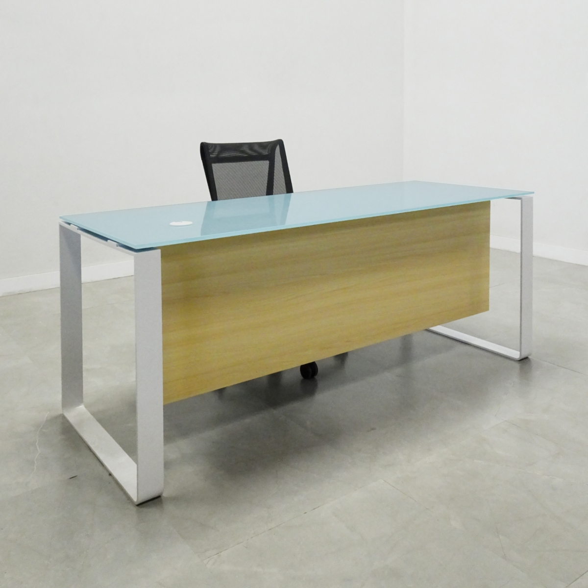 Aspen Glass Top Desk