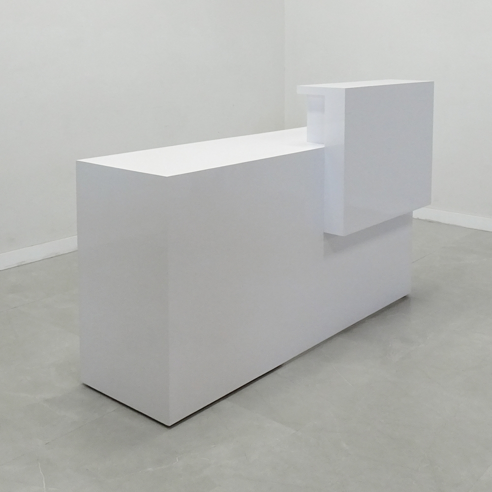 68 In. Los Angeles Height Retail Reception Desk - Stock #249