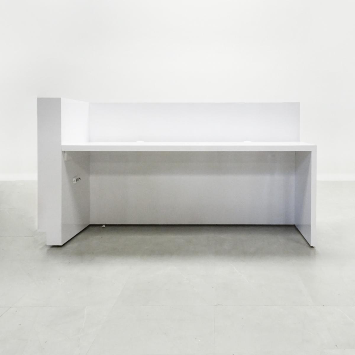 60 In. Manhattan  Reception Desk - Stock #85