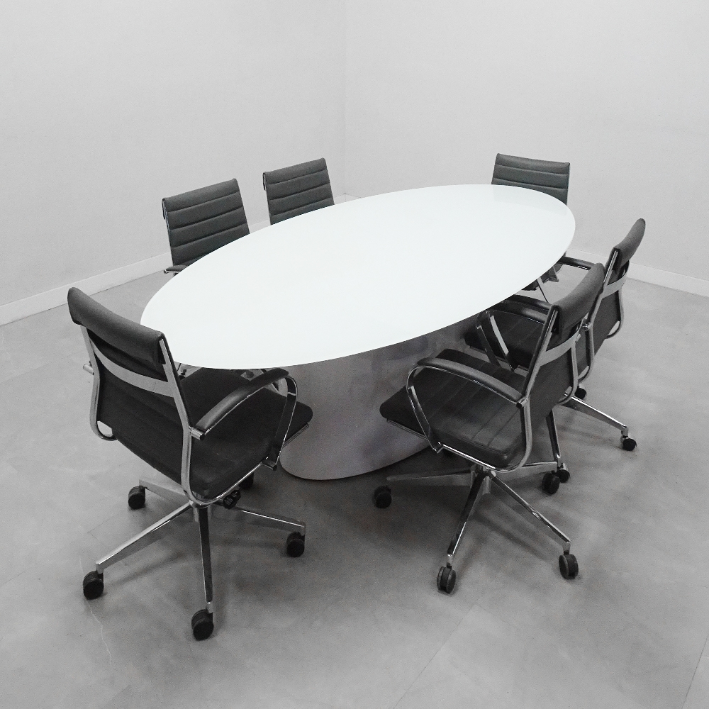 96 In. Axis Oval  Conference Table - Stock #401