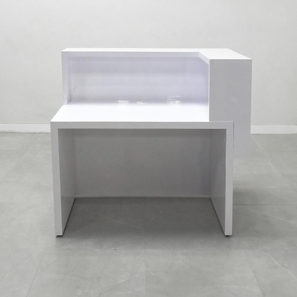 48 In. San Francisco L Shape Reception Desk - Stock #236