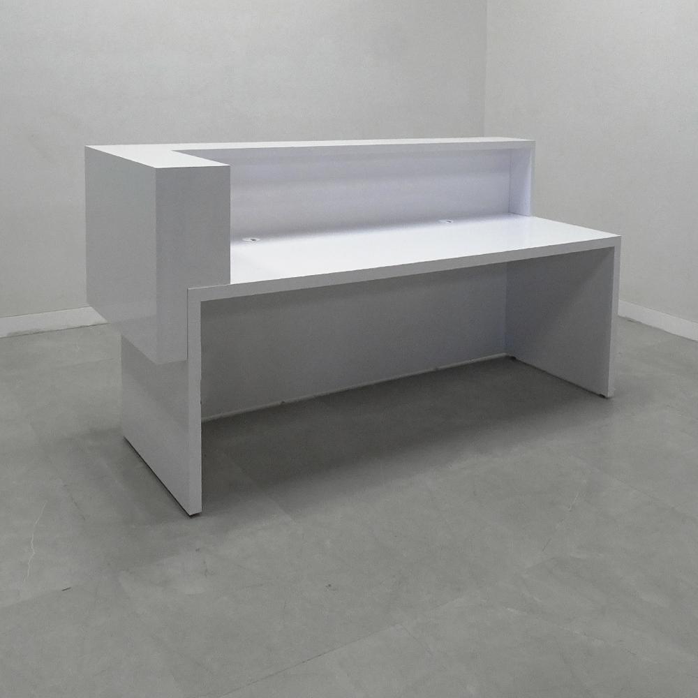 88 In. San Francisco L Shape Reception Desk - Stock #238