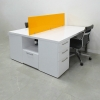 Dallas Custom Work Station built in Storage Cabinet. (RGIHT SIDE) *Chairs not included.