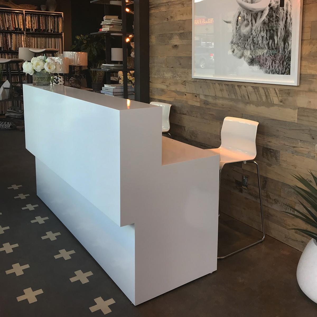 San Francisco Straight Custom Reception Desk
