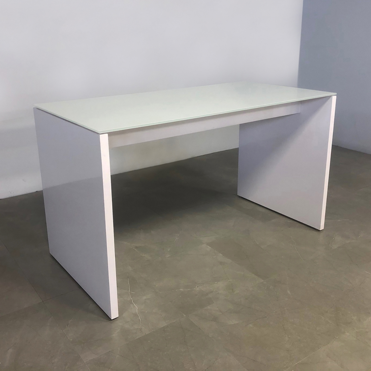 Axis Glass Top Bar Table