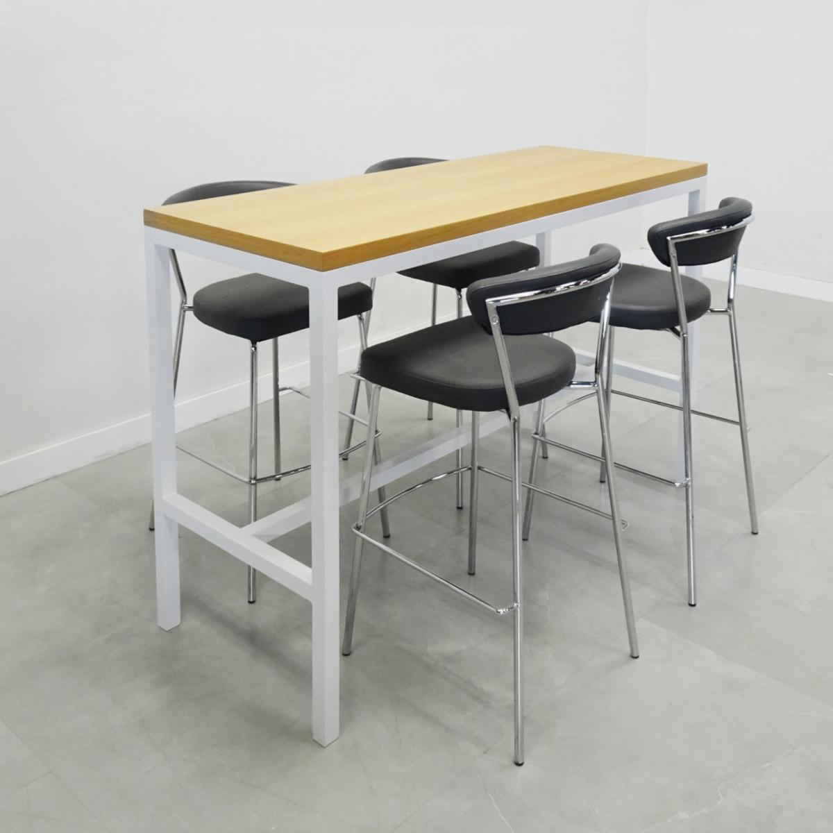 Aspen Bar Table with Laminate & Veneer Tops