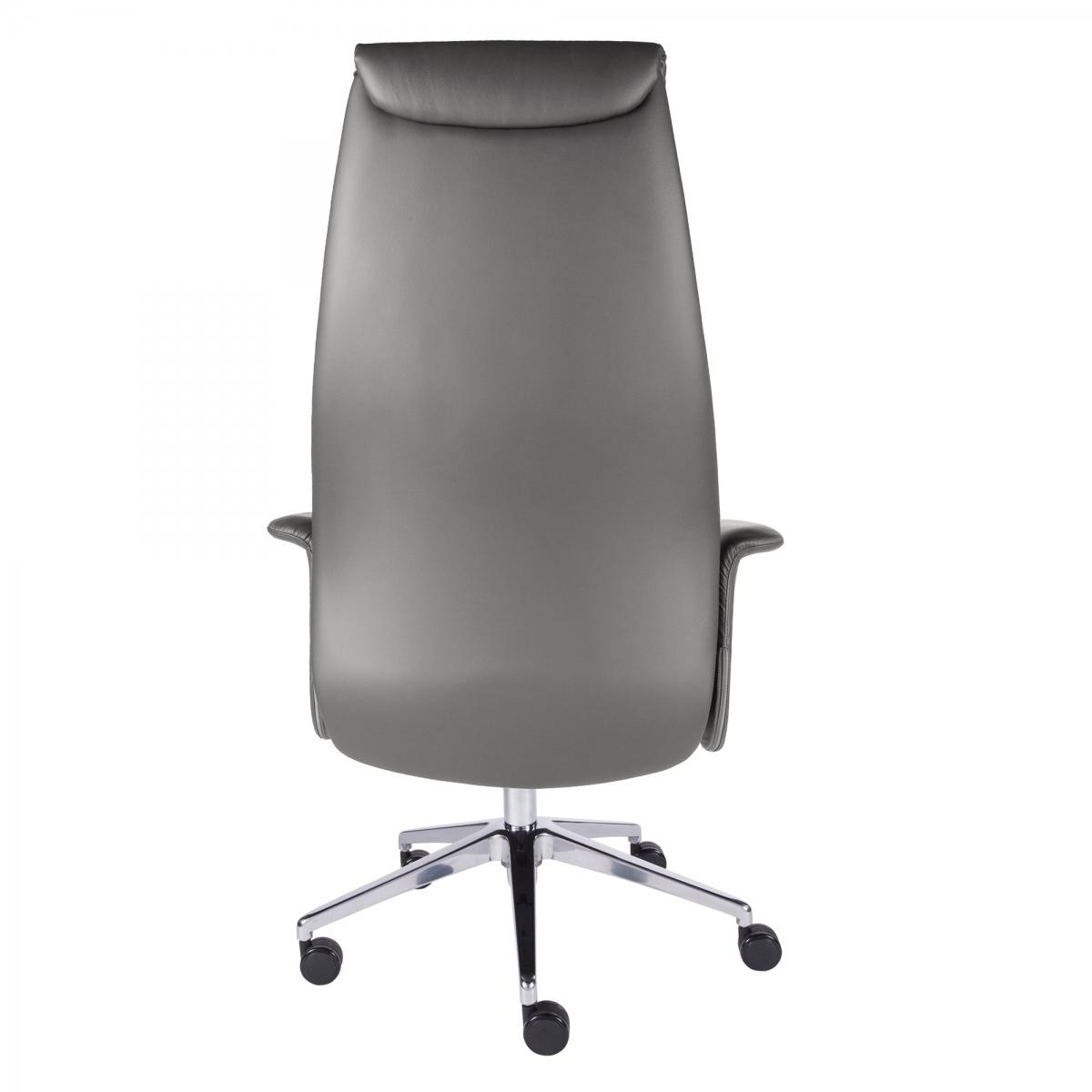 Ilario High-Back Executive Chair Charcoal