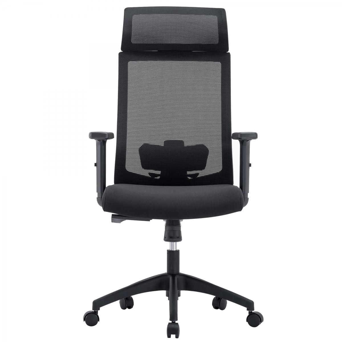 Newton Mesh Chair with Headrest
