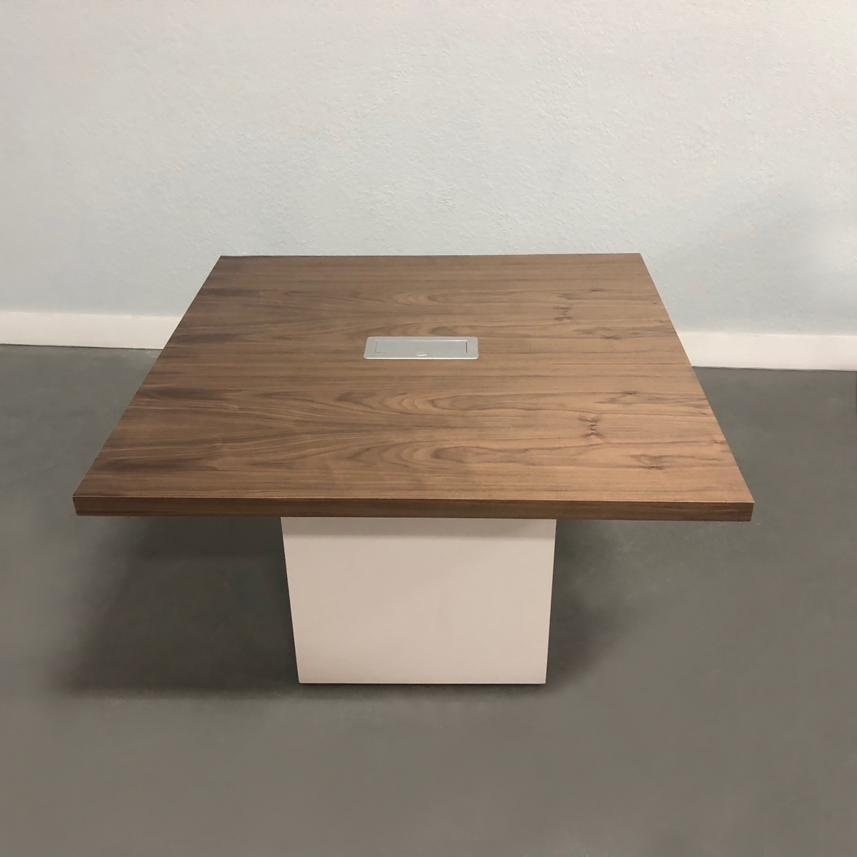 Axis Square Meeting Table in Laminate Finish