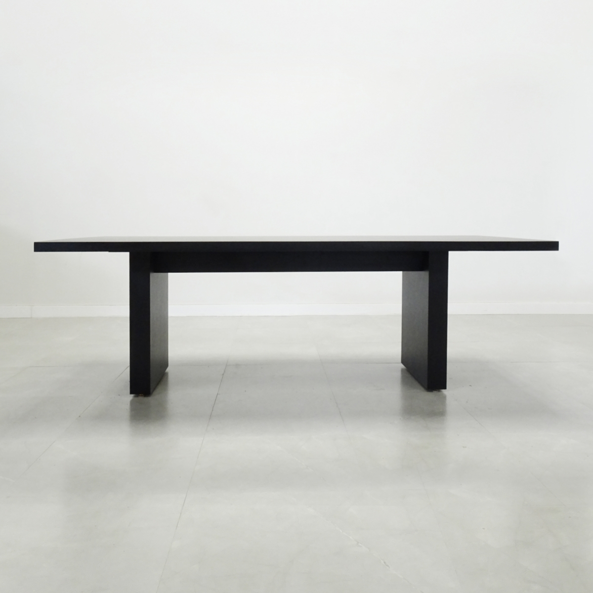 Axis Rectangular Meeting Table with Solid Top