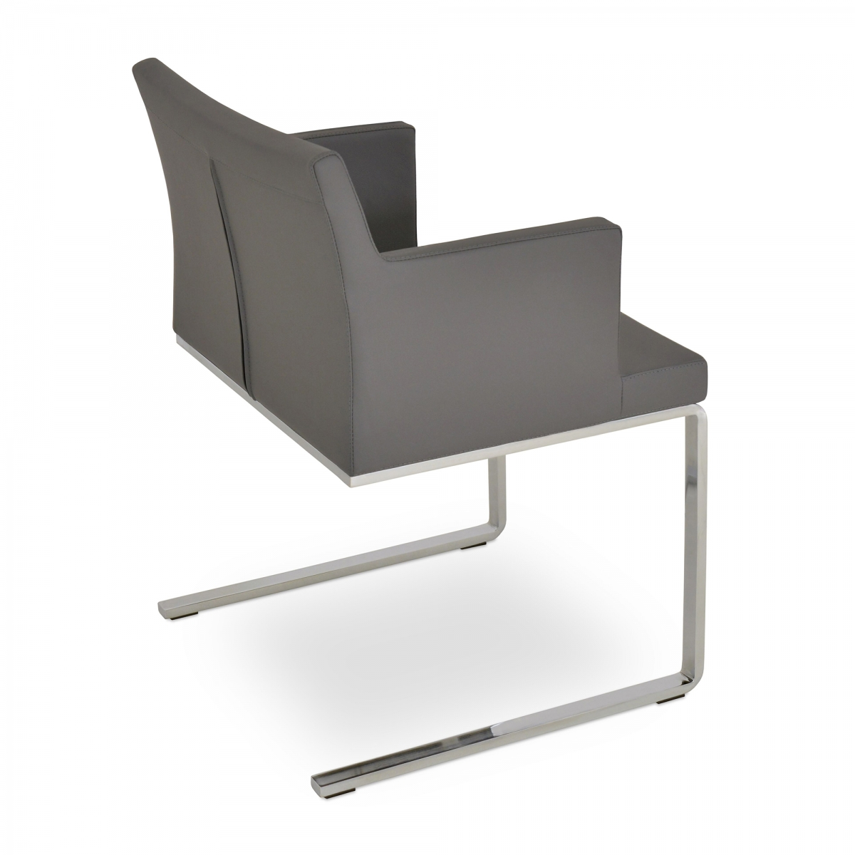 Soho Arm Guest Chair, Flat & Slide Frames