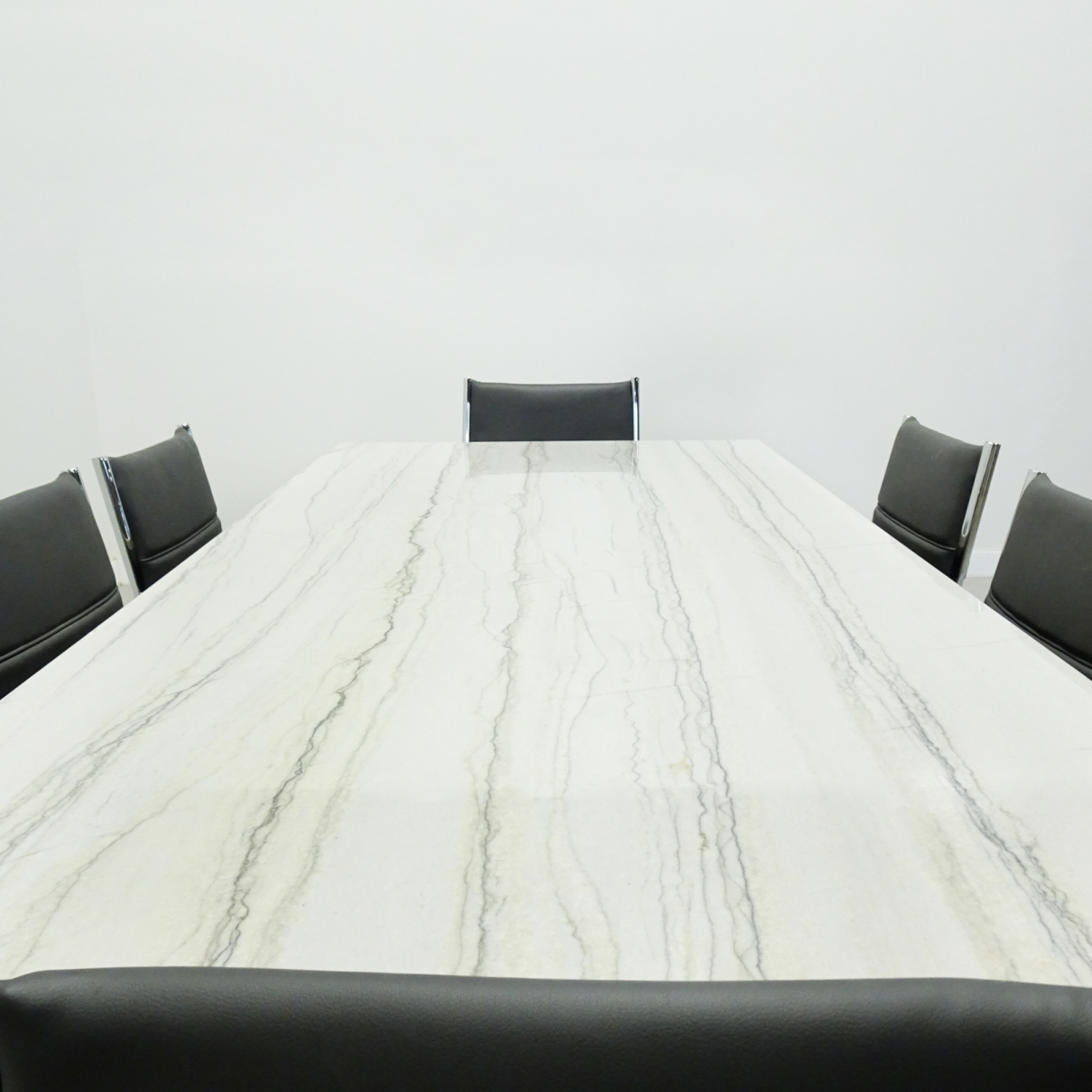 96 In. Axis Table with Stone Top