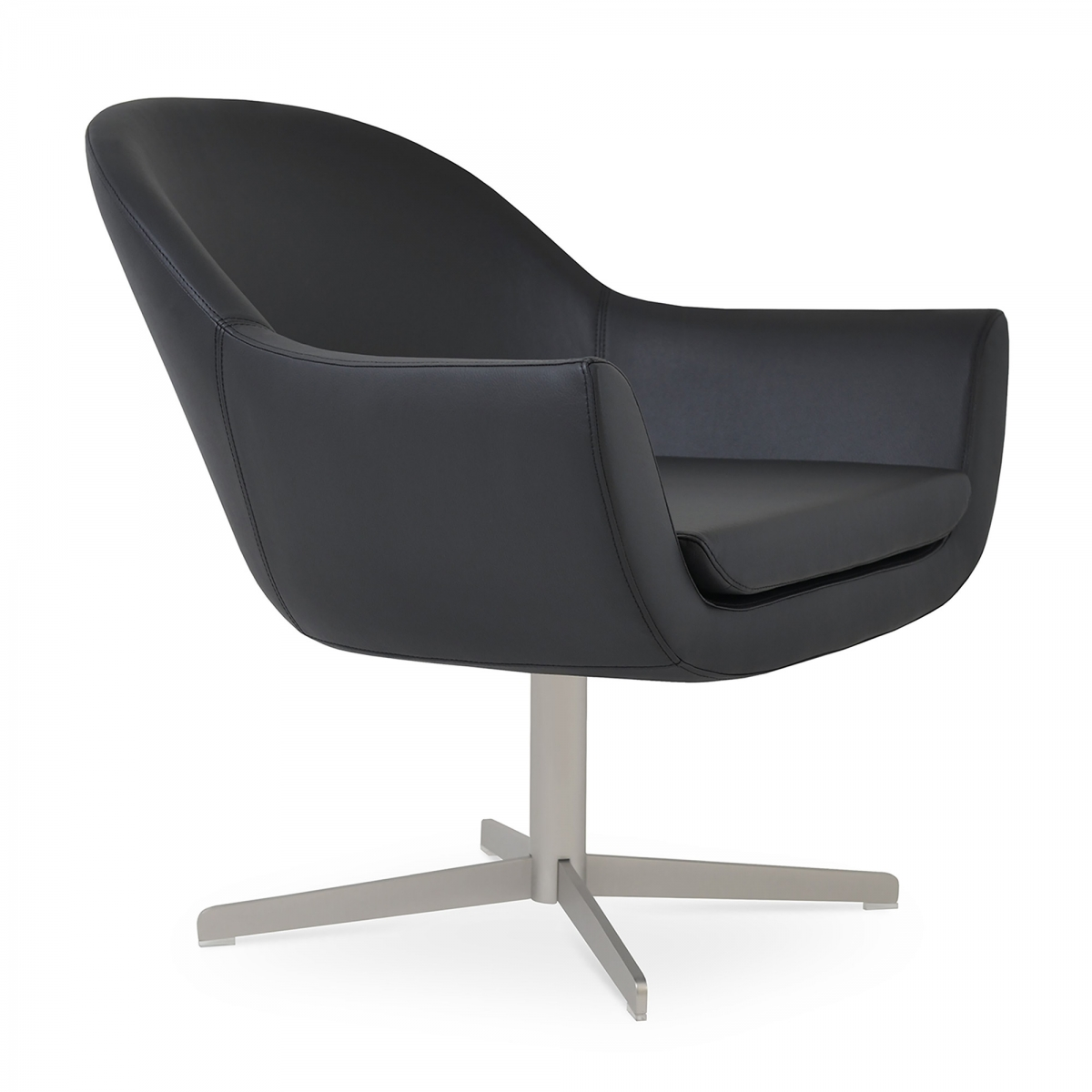 Madison Lounge Chair, 4 Star Legs